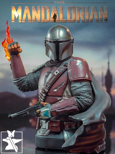 Preorder Gentle Giant Star Wars The Mandalorian MK1 Bust