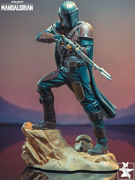 Gentle Giant Star Wars The Mandalorian MK1 Statue