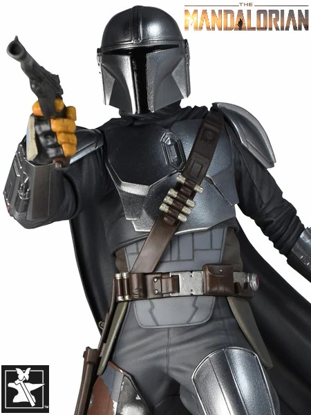 Preorder Gentle Giant Star Wars The Mandalorian Beskar Statue