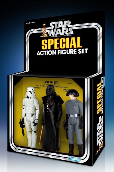 Gentle Giant Star Wars Villains 12 Inch Jumbo Figure 3 Pack