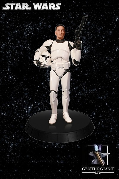 Gentle Giant Star Wars White Clone Trooper Deluxe Statue