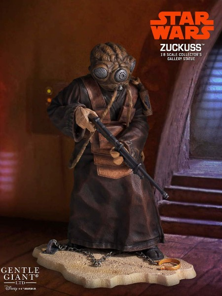 Preorder Gentle Giant Star Wars Zuckuss Collector Gallery Statue