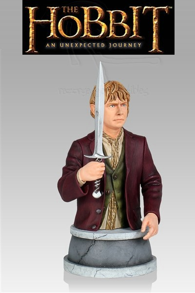 Gentle Giant The Hobbit Bilbo Baggins Mini Bust