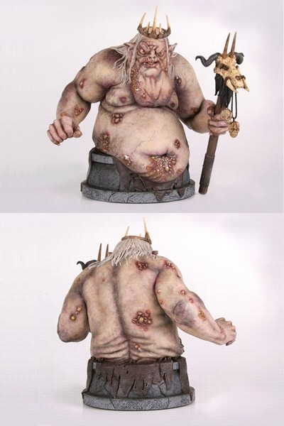 Gentle Giant The Hobbit The Goblin King Mini Bust