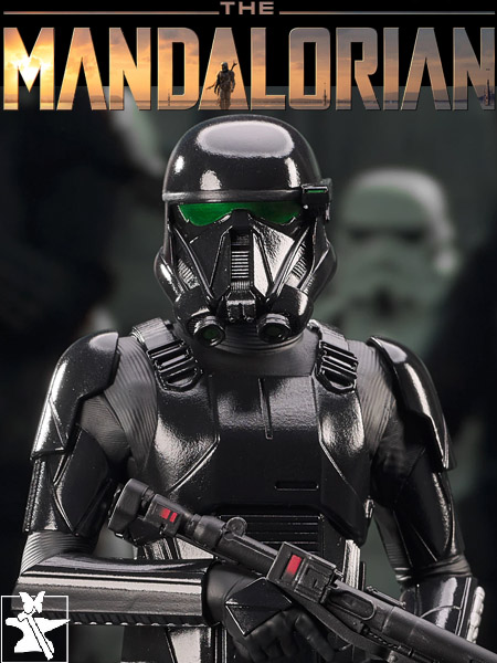 Preorder Gentle Giant Star Wars Mandalorian Death Trooper Bust