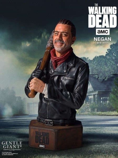Gentle Giant The Walking Dead Negan Mini Bust