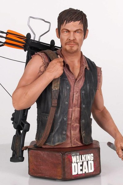 Gentle Giant The Walking Dead Daryl Dixon Mini Bust