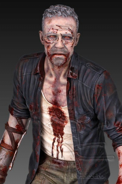 Gentle Giant The Walking Dead Merle Dixon Zombie Walker Statue