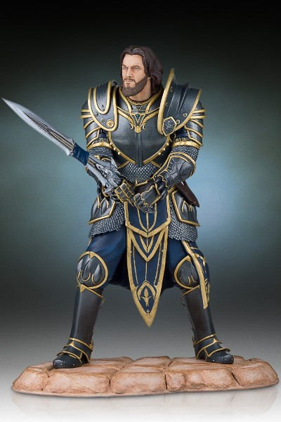 Gentle Giant Warcraft Movie Lothar Statue