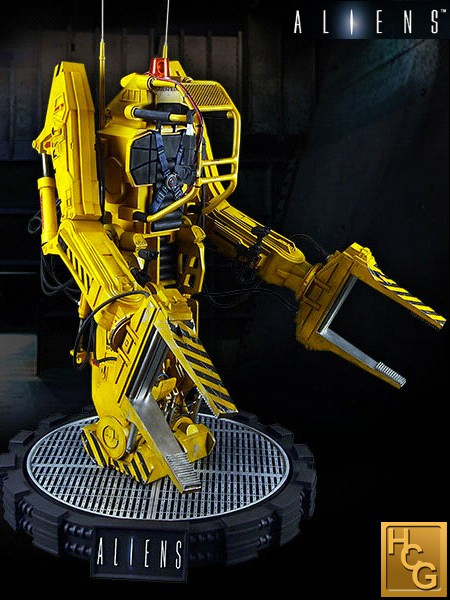 Hollywood Collectibles Group Aliens Power Loader Studio Scale