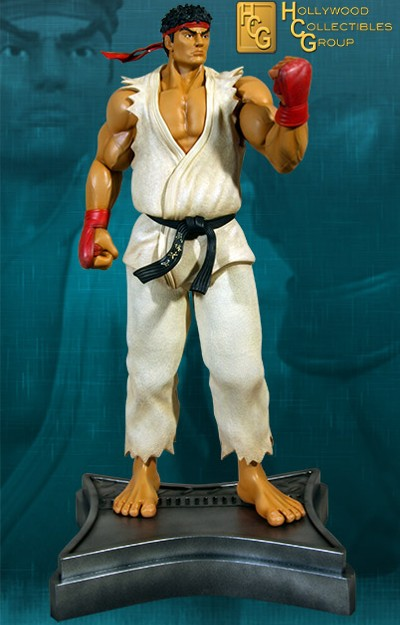 Hollywood Collectibles Group Street Fighter Ryu 26 Inch Statue