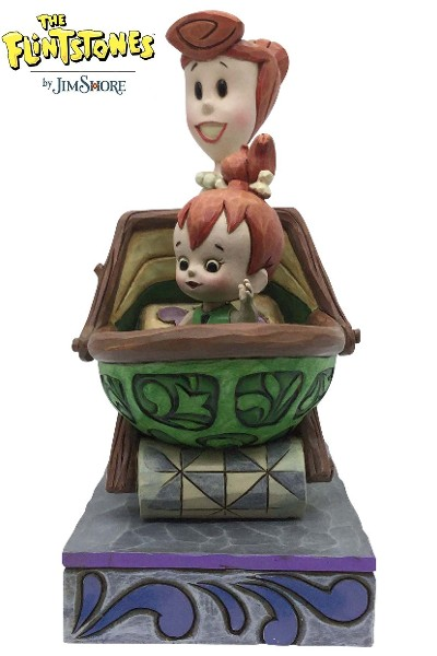 Hanna Barbera The Flintstones Wilma with Pebbles Statue
