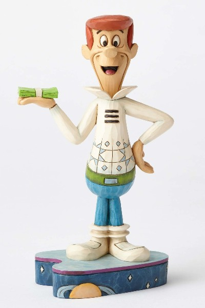 Hanna Barbera by Jim Shore The Jetsons George Jetson Statue