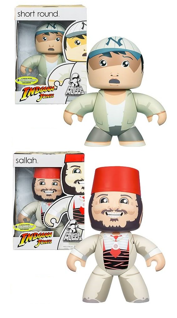 Hasbro Indiana Jones Short Round & Salleh Mighty Muggs Set