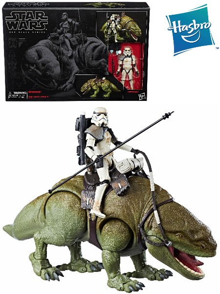 Hasbro Star Wars Black Series Dewback and Sandtrooper Figure Set