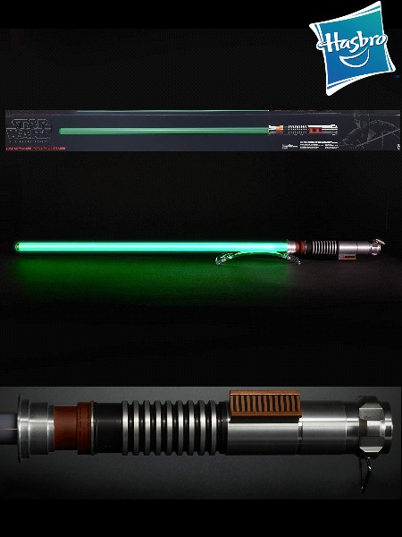 Hasbro Star Wars Black Series Force FX Luke ROTJ Lightsaber