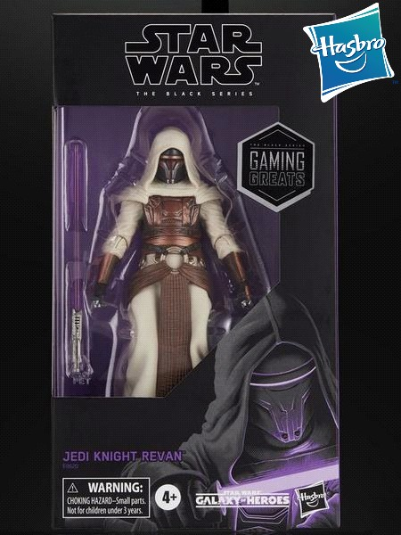 Hasbro Star Wars Black Series Jedi Knight Revan 6 Inch Figure