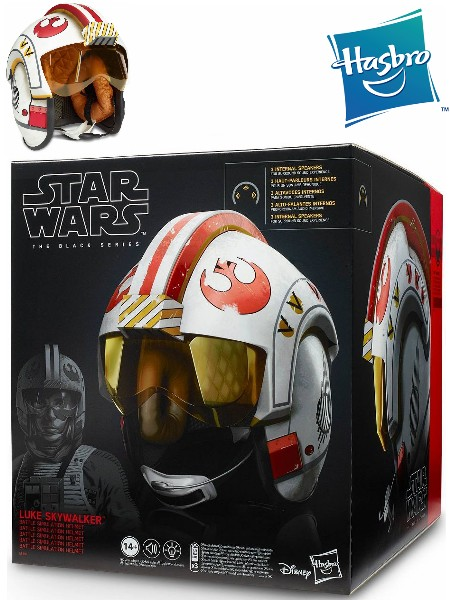 Hasbro Star Wars The Black Series Luke Battle Simulation Helmet