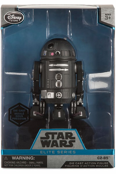 Hasbro Star Wars Elite Series Die Cast C2-B5 Figure