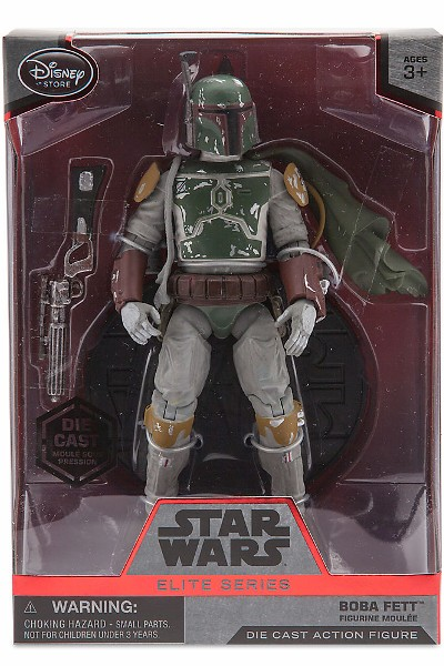 Hasbro Star Wars Elite Series Die Cast Boba Fett Figure