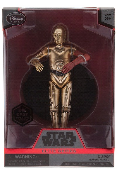 Hasbro Star Wars Elite Series Die Cast C-3PO Figure