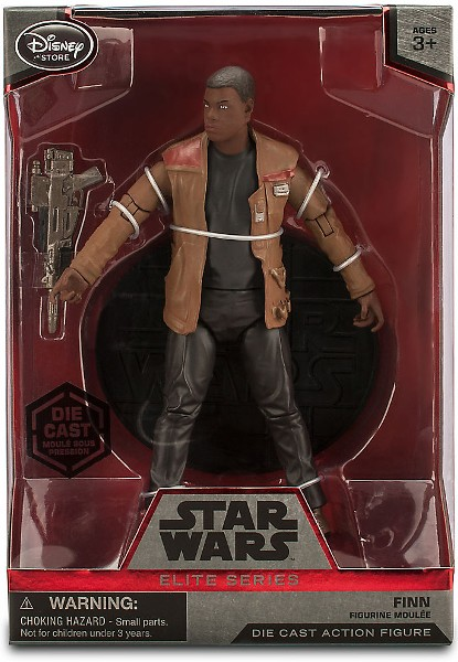 Hasbro Star Wars Elite Series Die Cast Finn Figure