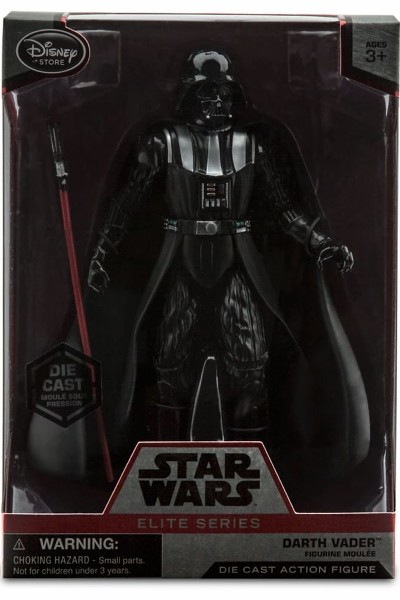 Hasbro Star Wars Elite Series Die Cast Darth Vader Figure