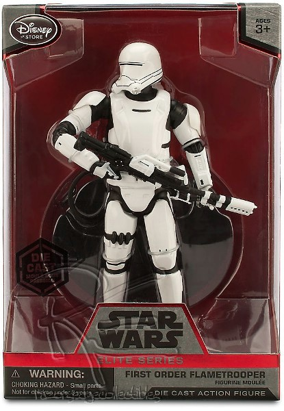 Hasbro Star Wars Elite Series Die Cast Flametrooper Figure