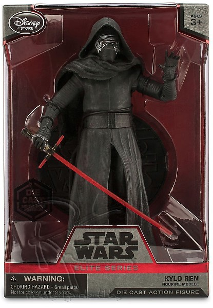 Hasbro Star Wars Elite Series Die Cast Kylo Ren Figure