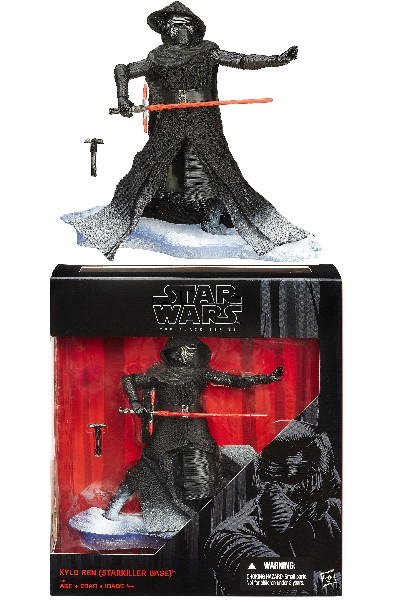 Hasbro Star Wars Black Kylo Ren Starkiller Base 6 Inch Figure