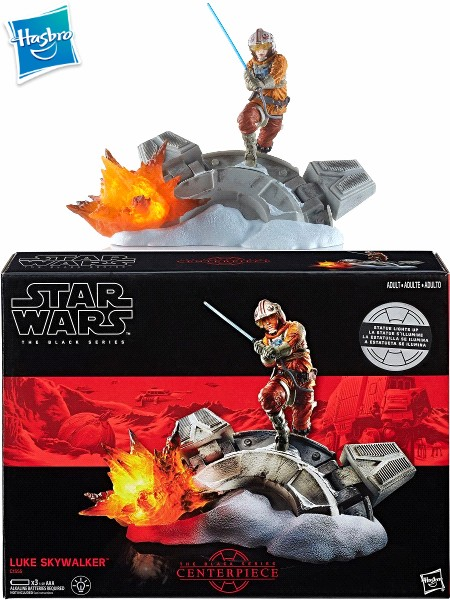 Hasbro Star Wars Black Series Luke Skywalker Centerpiece Statue