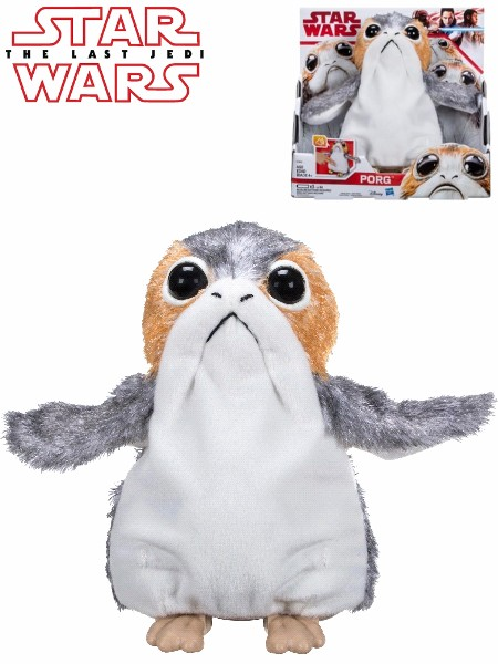 Hasbro Star Wars The Last Jedi Porg Electronic Plush