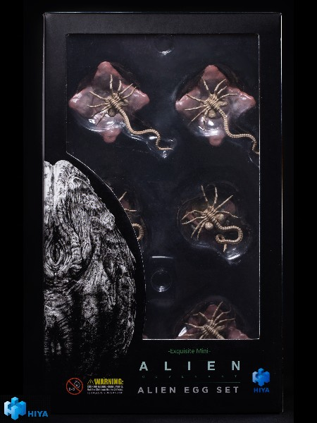 Hiya Toys Alien Covenant Alien Eggs 12 Piece Set