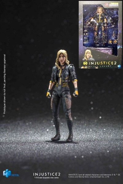 Hiya Toys DC Comics Injustice 2 Black Canary Figure