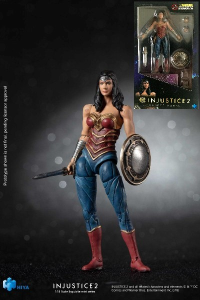 Hiya Toys DC Comics Injustice 2 Wonder Woman Figure