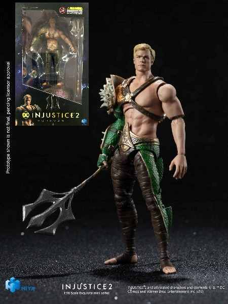 Hiya Toys DC Comics Injustice 2 Aquaman Figure