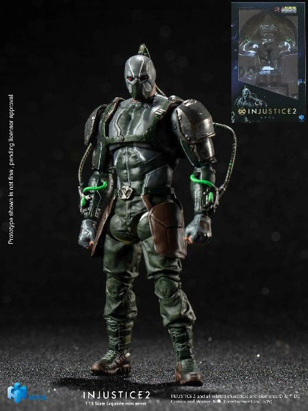 Hiya Toys DC Comics Injustice 2 Bane Figure