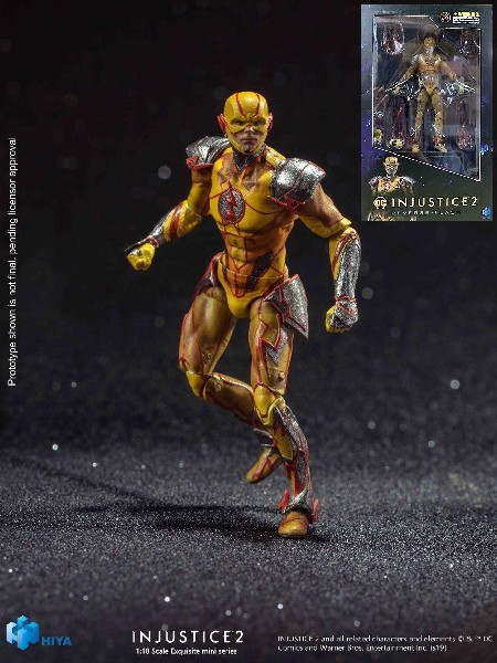 Hiya Toys DC Comics Injustice 2 Reverse Flash Figure