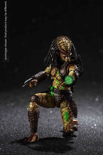 Hiya Toys Predator 2 Battle Damaged City Hunter Predator Figure