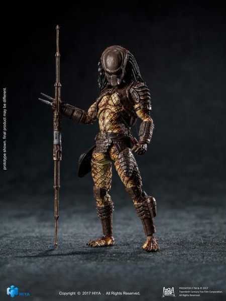 Hiya Toys Predator 2 City Hunter Predator Action Figure
