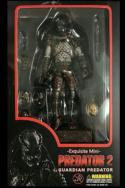 Hiya Toys Predator 2 Guardian Predator Action Figure