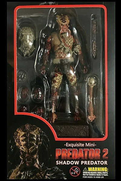 Hiya Toys Predator 2 Shadow Predator Action Figure