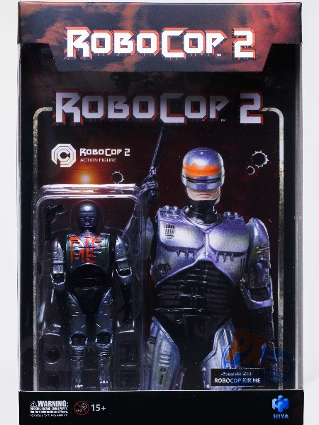 Hiya Toys RoboCop 2 - RoboCop Kick Me Exclusive Action Figure