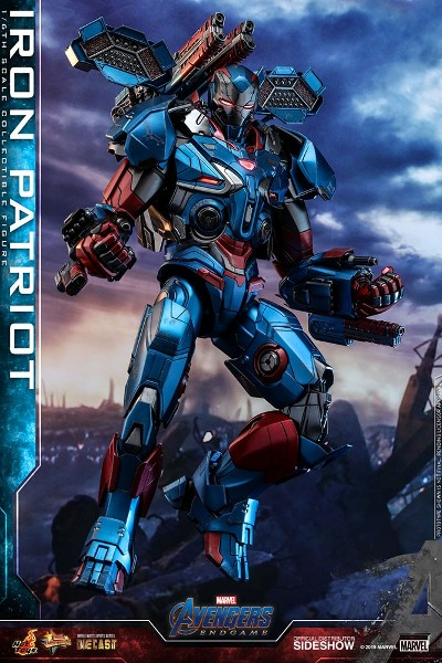Preorder Hot Toys Marvel Avengers Endgame Iron Patriot Figure