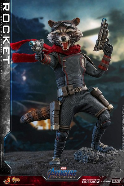Preorder Hot Toys Marvel Avengers Endgame Rocket Figure