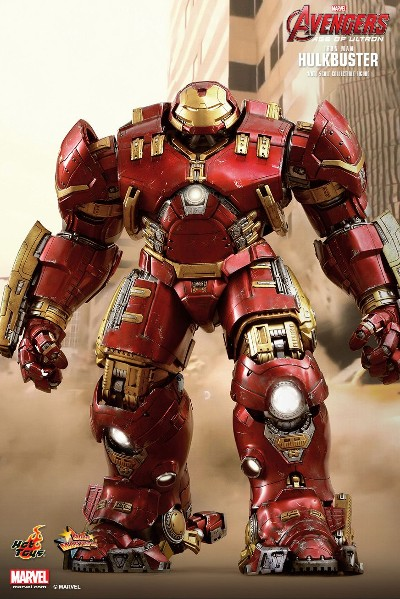 Hot Toys Marvel Avengers Hulkbuster Iron Man Collectible Figure