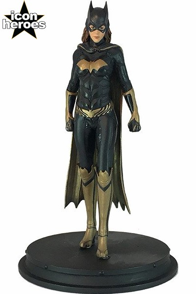 Icon Heroes DC Comics Batman Arkham Knight Batgirl Mini Statue