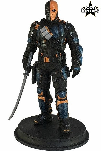 Icon Heroes DC Comics Arrow TV Series Deathstroke Mini Statue
