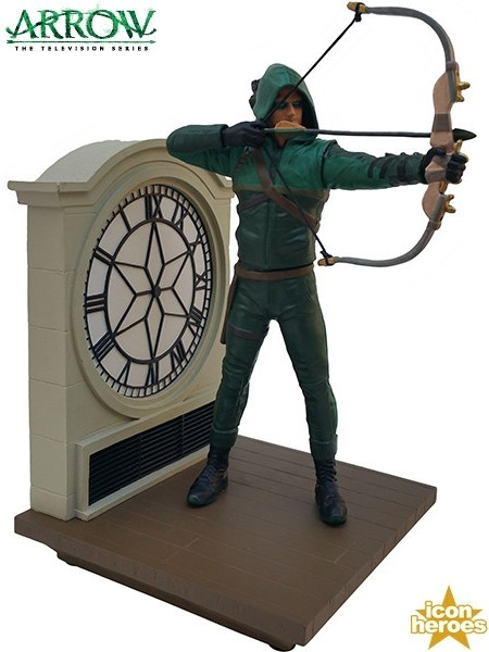 Icon Heroes DC Comics Arrow TV Series Season 1 Statue Bookend