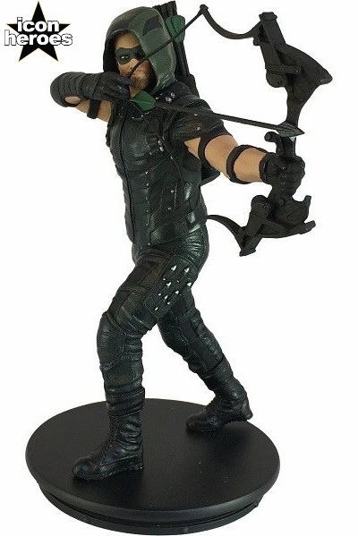 Icon Heroes DC Comics Arrow TV Series Green Arrow Mini Statue